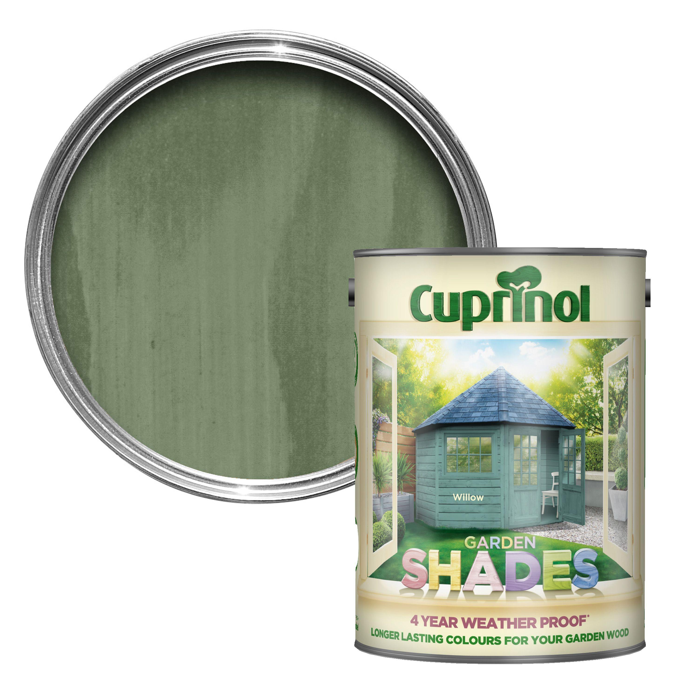 Cuprinol Garden Shades Willow Wood Paint 5L Departments
