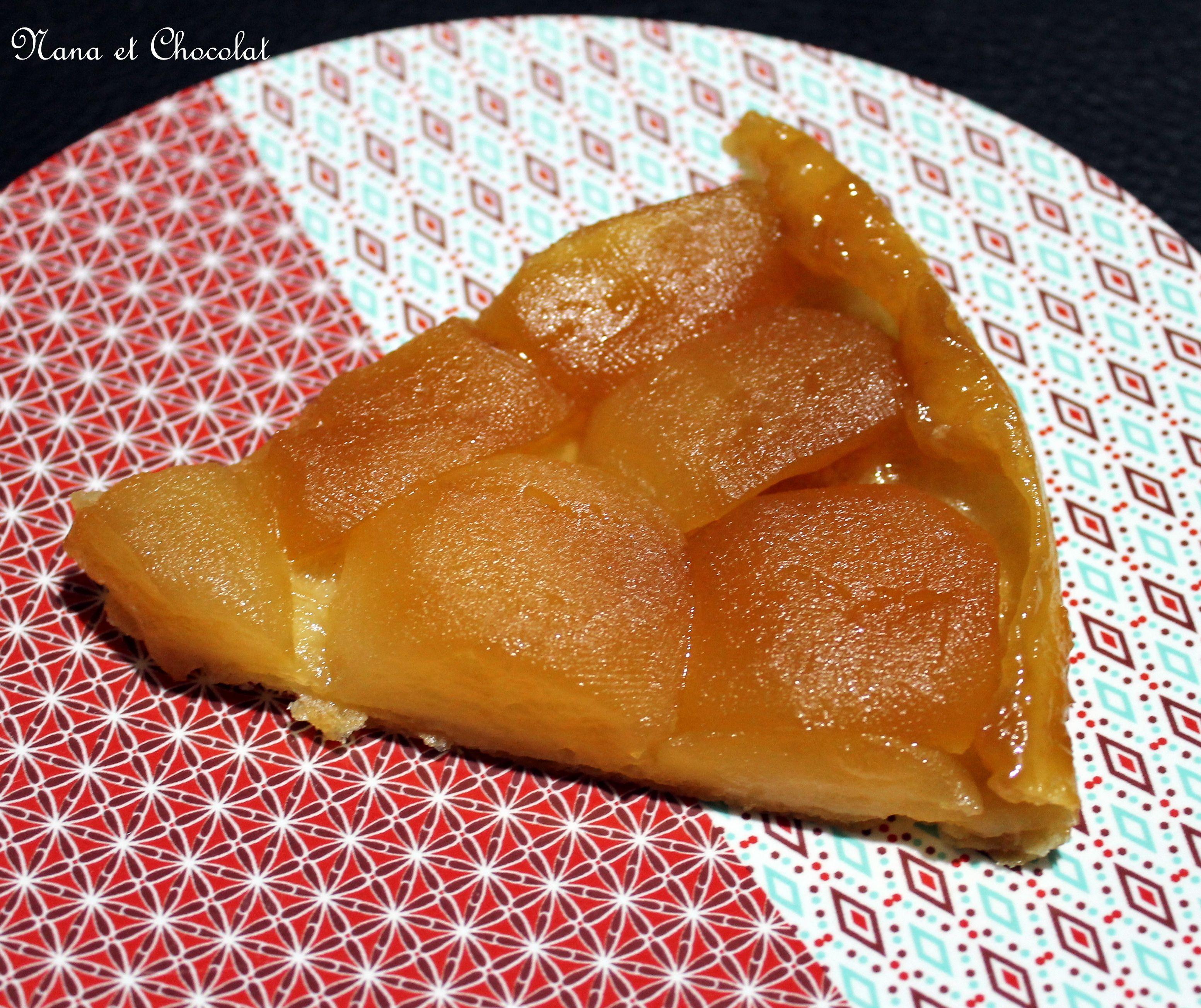Tarte tatin, pâte feuilletée rapide au thermomix | Pâte ...