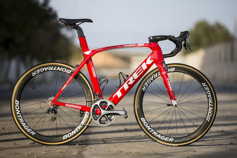 Fabian Cancellara's Trek Madone 9.9 2016