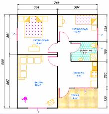100m2 Ev Planları   Google Da Axtar
