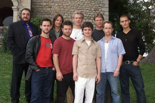 Lotr Cast Lord Of The Rings Fellowship Of The Ring The Hobbit