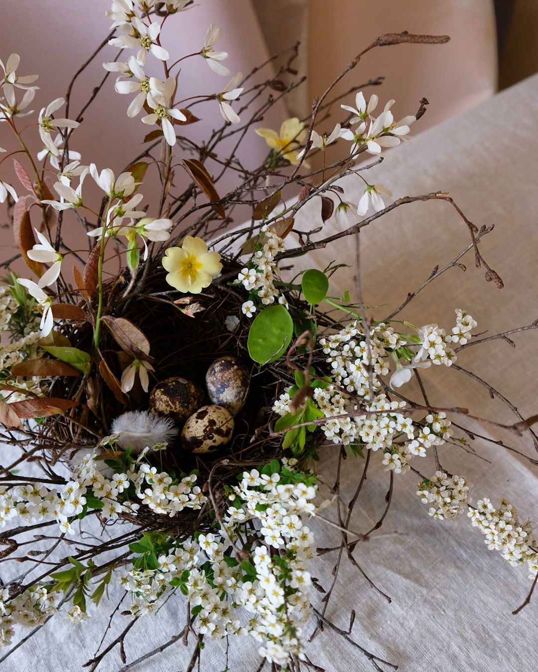 Kitten Grayson Flowers On Instagram Kgf Easter Nest Head To Our Highlights To Learn How To Make Your Own Blossom Nest In 4 Ste In 2020 Easter Nests Flowers Blossom
