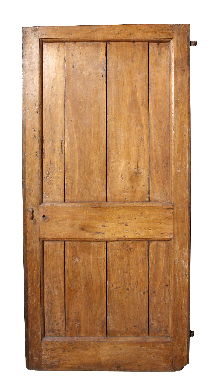 18th Century Rustic Oak Plank Door Uk Architectural Heritage