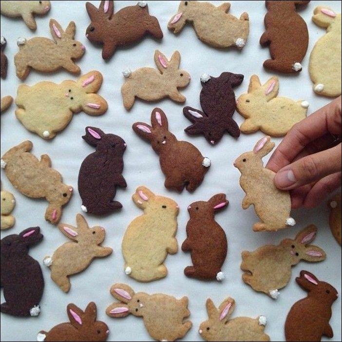 Kekse selber backen - 66 Ideen, wie Sie die Osterplätzchen verzieren #thanksgivingoutfit