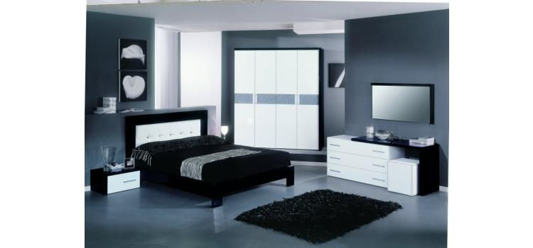 Moon Italian Modern Bedroom Set - Modern Bedroom - Bedroom Home is - Italian Bedroom Sets