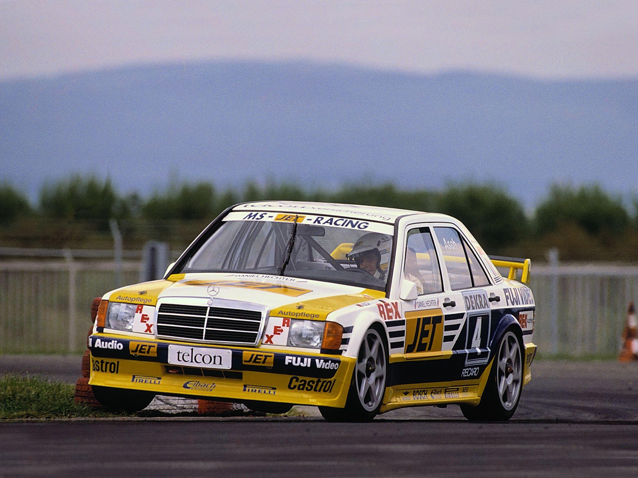 1989 Mercedes-Benz 190 E 2.5L 16V Evolution W201 DTM race racing ...