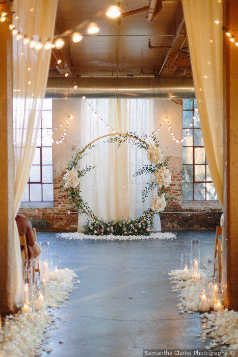 Ben und Caras Hochzeit in Atlanta, Georgia   – Wedding Arches