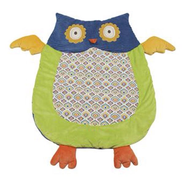 Owl Kick About Baby Mat Make Do Love Floor Mats Owl Baby