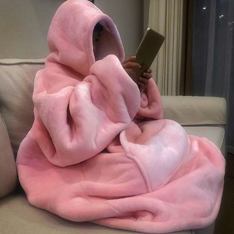 """Photo of Furryunique ™ on Instagram: """"Meet The Furry™ – Our Oversized Blanket Hoodie –  Luxurious, warm & soft! One Size Fits All Makes a great gift for any occasion! Easy to…"""""""