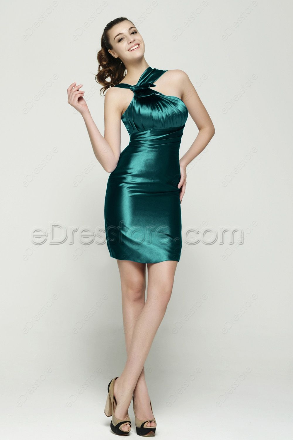 Dark Green Martini Dress