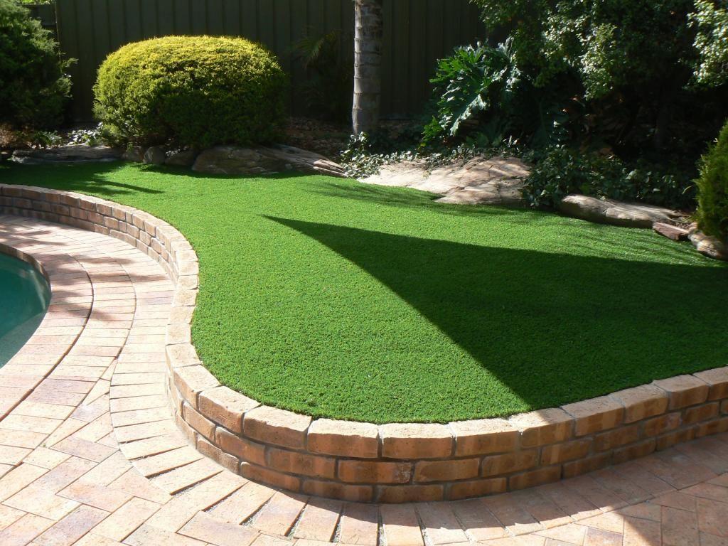 10 best artificial turf designs front yard backyard pinterest
