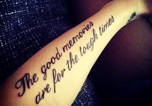 quote tattoos for girls on arm