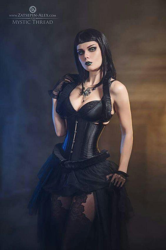Carlos ABA | Goth beauty, Gothic fashion, Gothic outfits