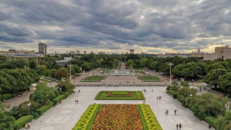 Wonderful Moscow Parks And Gardens To Escape The Noise Of The City Park Beautiful Architecture