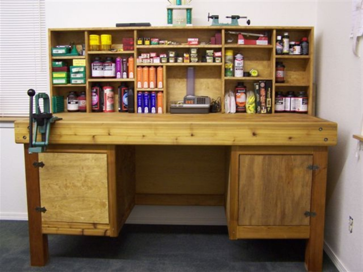 Reloading Bench Layout Organization Bullet And Also Used Piano Ammo Reloading Bench Reloading Bench Reloading Bench Plans Reloading Room