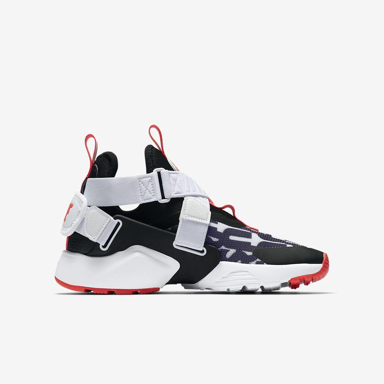 b08d2c8b3e4b Nike Huarache City Jdi Premium Big Kids  (Boys ) Shoe - 3.5Y Crimson ...