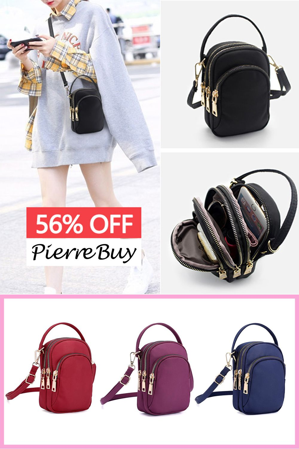 Cell Phone Purse South African Flag Crossbody Bag Womens Lightweight Portable Small Wallet Waterproof PU Leather Mini Shoulder Bag Easy Care Phone Wallet For Shopping Date Hiking