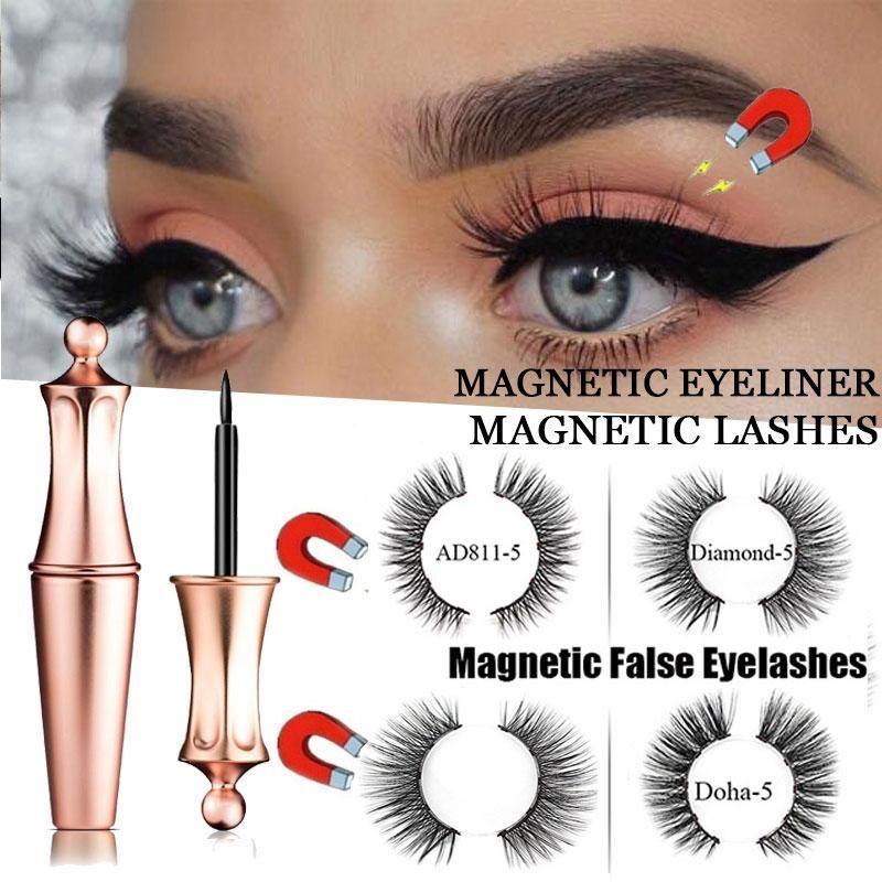 False eyelashes eyeliner mink fake eyelash