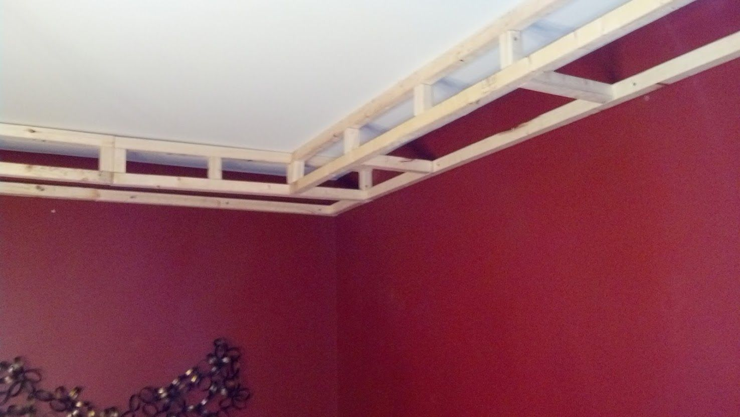 Road To The Ravenna Diy Tray Ceiling Updated Diy House Stuff