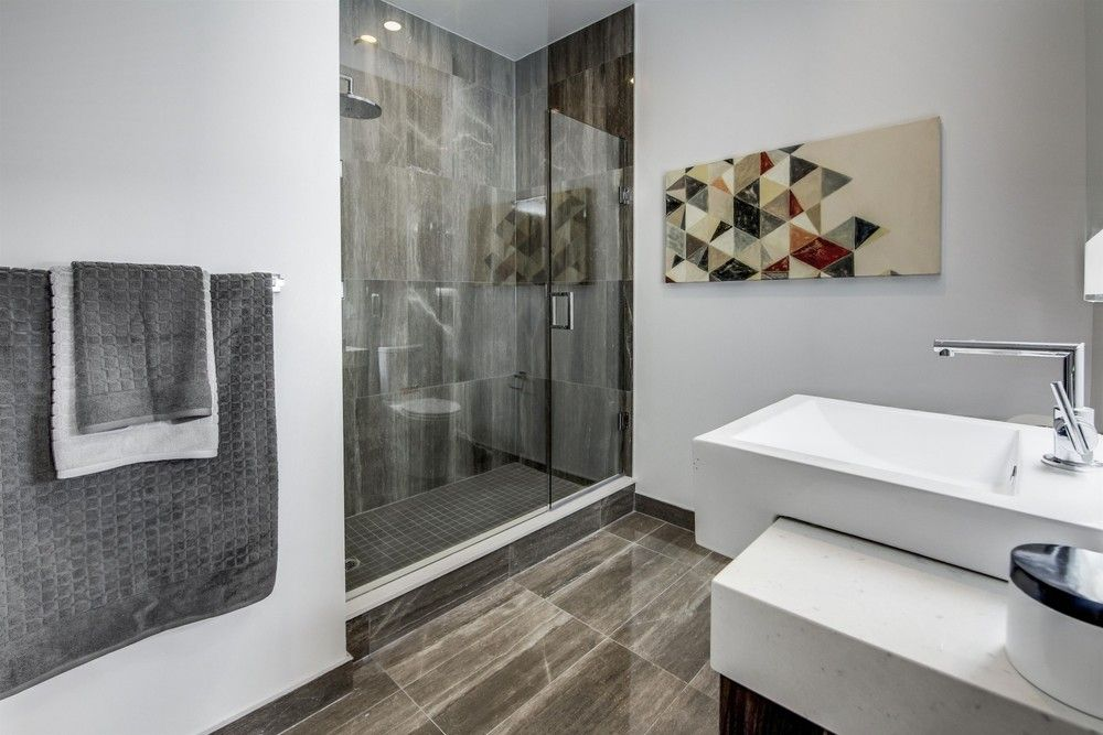 The Master En Suite 12 Degree Penthouse Staged By Justine Elise Interiors Queen