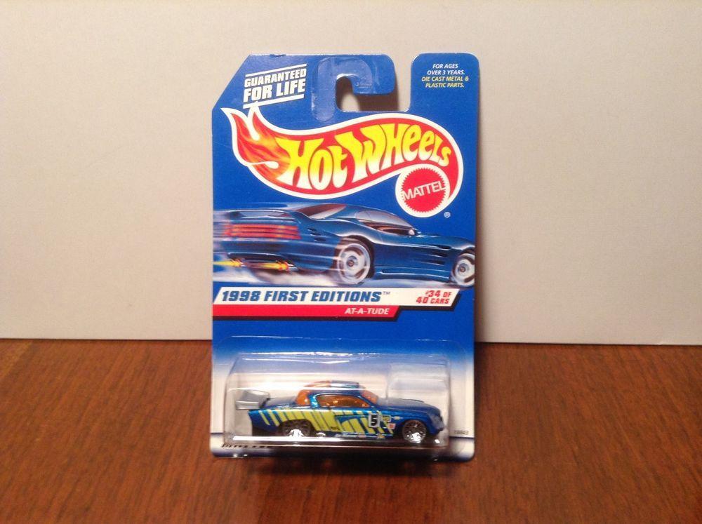 1998 Hot Wheels #667 First Edition #34 At-A-Tude
