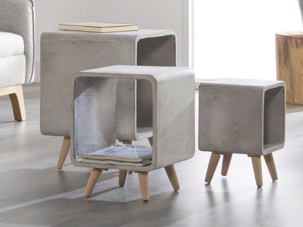 die besten 25 beistelltisch beton ideen auf pinterest betontisch betontisch beistelltisch. Black Bedroom Furniture Sets. Home Design Ideas