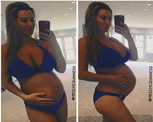 Christine McGuinness can't wait to meet her baby! 9 months pregnant now!
