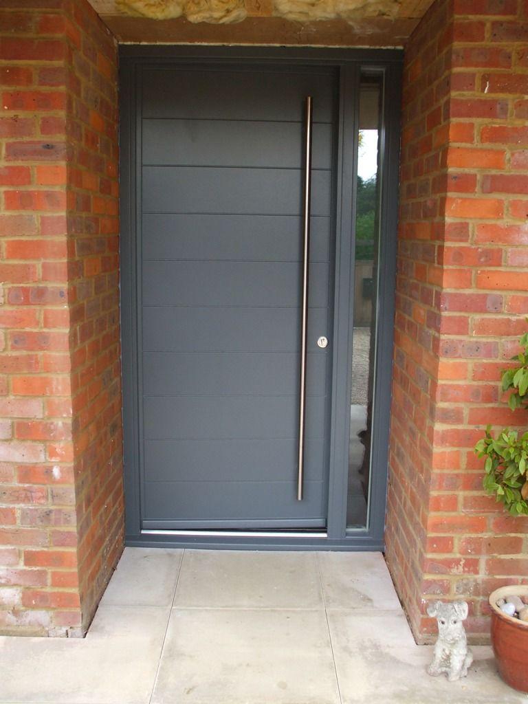 Modern House Exterior Design Front Door Ideas Wood Facade Wooden Garage Door: Modern Front Door Kloeber Funkyfront (4) In 2019