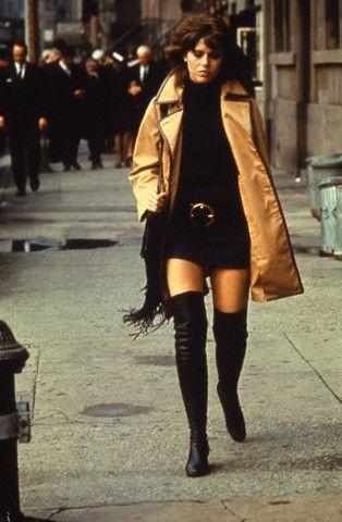 Jane Fonda en Klute (1971) | Мода 70 х годов, Стили знаменитостей ...