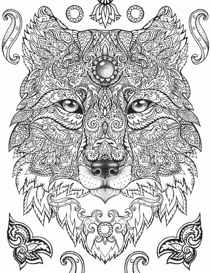Colouring Book Jungle Animals Elegant Coloring Ideas The Jungle Bookng Pages For Adults Idea Animal Coloring Pages Animal Coloring Books Mandala Coloring Pages