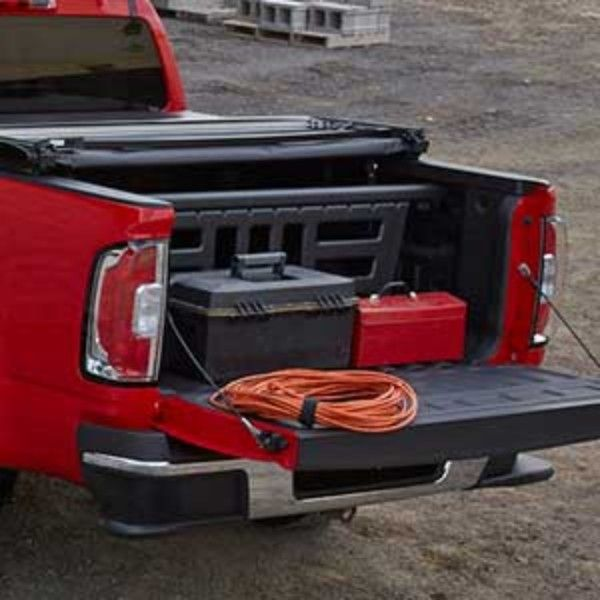 Canyon Bed Divider Sliding Included As Part Of The Gearontm Divider Package This Bed Divider Helps Partition The Ca Bed Divider Truck Accessories 2015 Canyon