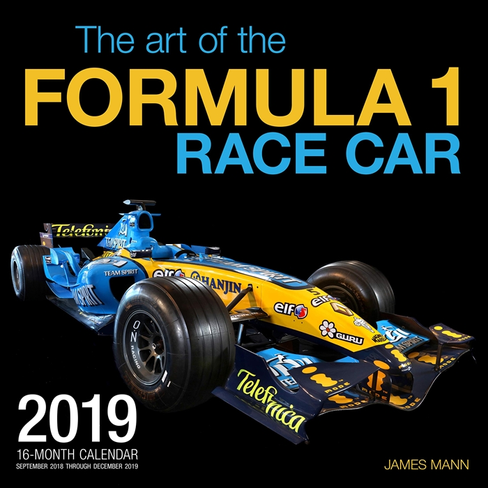 The Art Of The Formula 1 Race Car 2019 16 Month Calendar Includes September 2018 Through December 2019 By Editors Of Motorbooks Motorbooks Racing 16 Month Calendar Formula 1