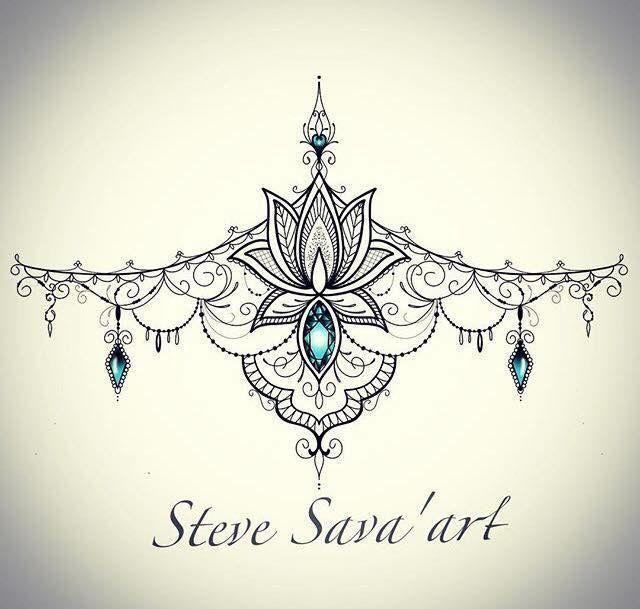 Liebe Ich liebe dieses Brustum Tattoo Design auch!   #tattoos