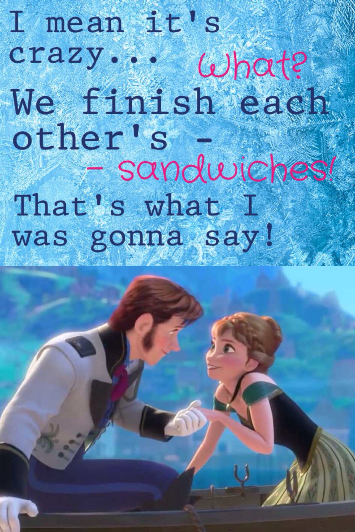 Day 8 Favorite Couple Song Love Is An Open Door Yes Its Hans