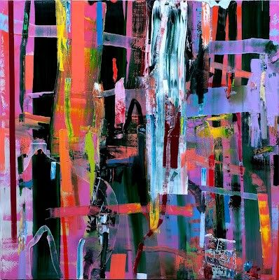 Cuadros Abstractos Famosos Muy Bellos Artistas Arte
