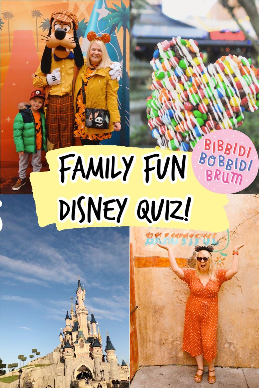 Family Fun Disney Quiz! in 2020   Disney quiz questions ...