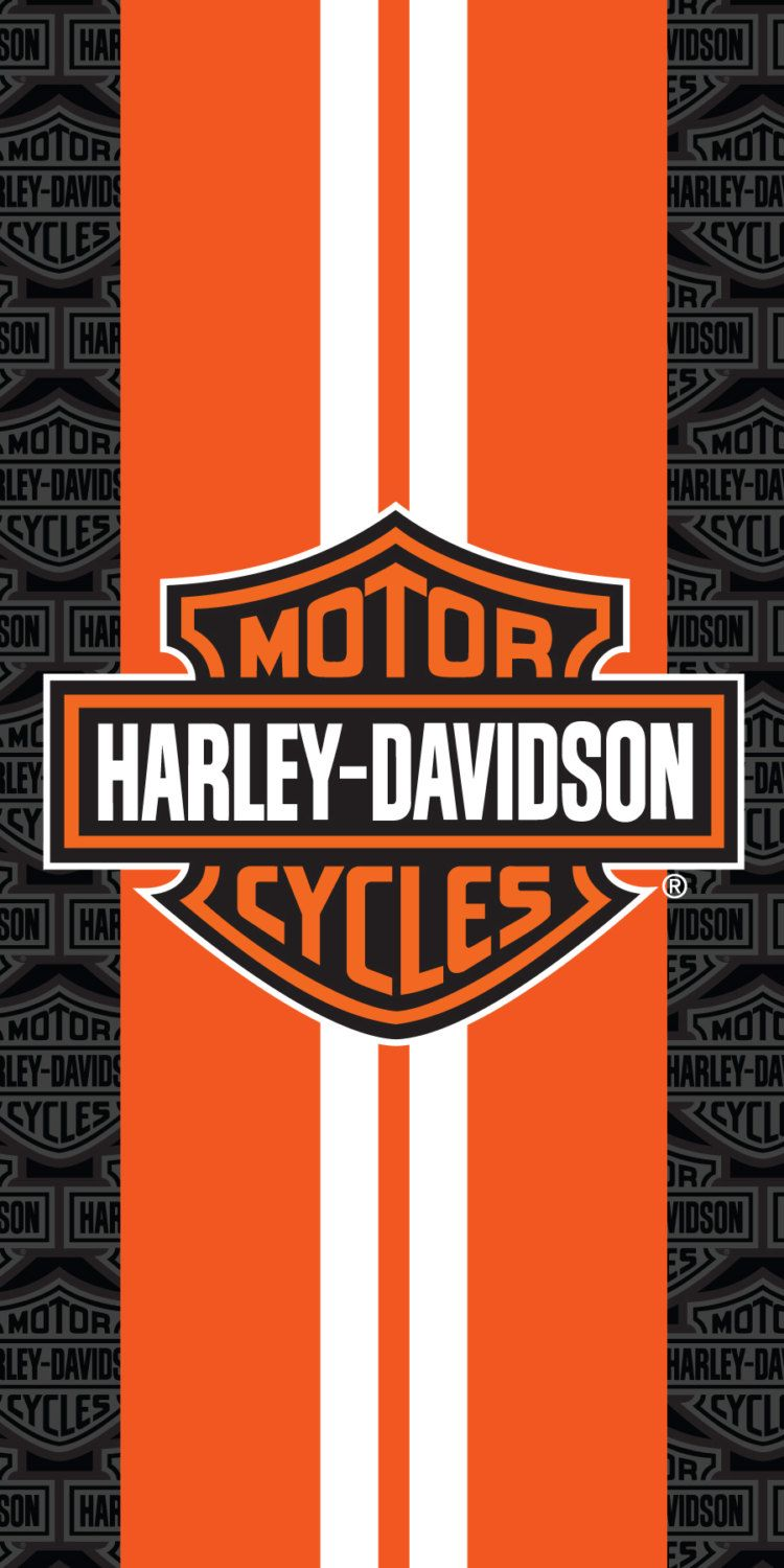 Harley Davidson Racing Stripes Beach Towel 30×60