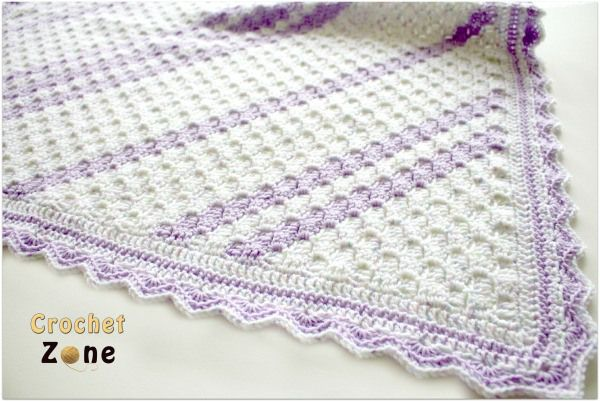Corner to Corner Baby Blanket crochet pattern by CrochetZone.com ...