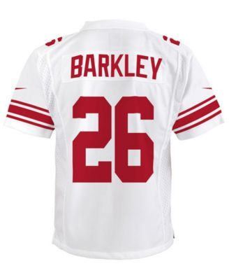 sale retailer b5f58 2e72e Nike Saquon Barkley New York Giants Color Rush Jersey, Big ...