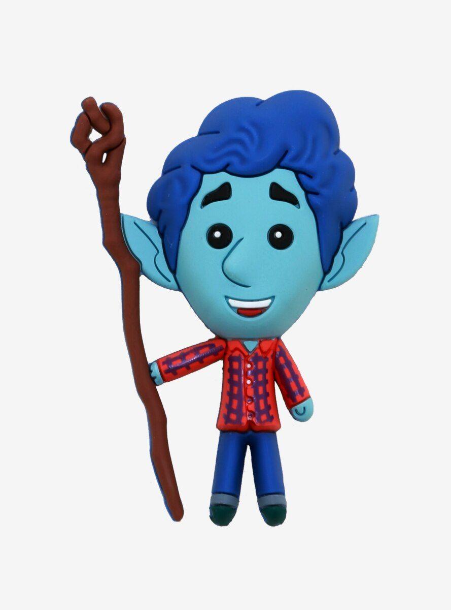 Photo of Disney Pixar Onward Ian Lightfoot Chibi Magnet
