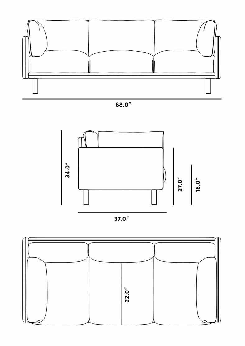 Anderson Sofa   Rove Concepts Rove Concepts Mid-Century ...