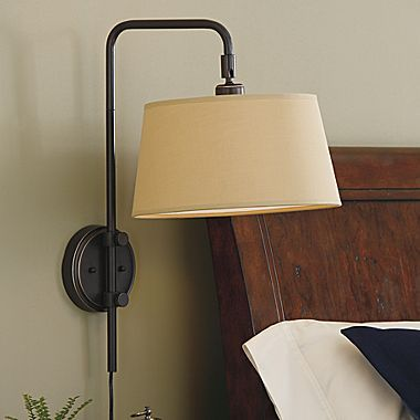 Jcpenney home adjustable bridge wall lamp