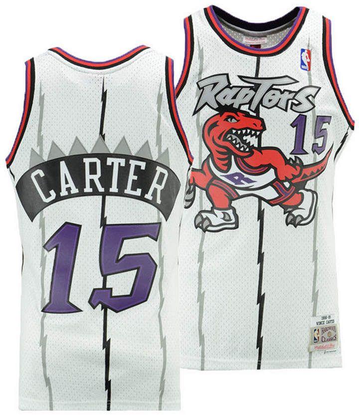 super popular ad5e9 bd121 Mitchell & Ness Big Boys Vince Carter Toronto Raptors ...