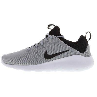 76b50aabf0764 Nike Kaishi 2.0 Mens 833411-001 Grey Black Mesh Athletic Running ...