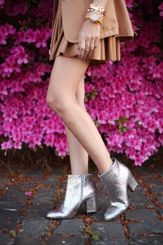 22082d44ba Sapatos com glitter  modo de usar