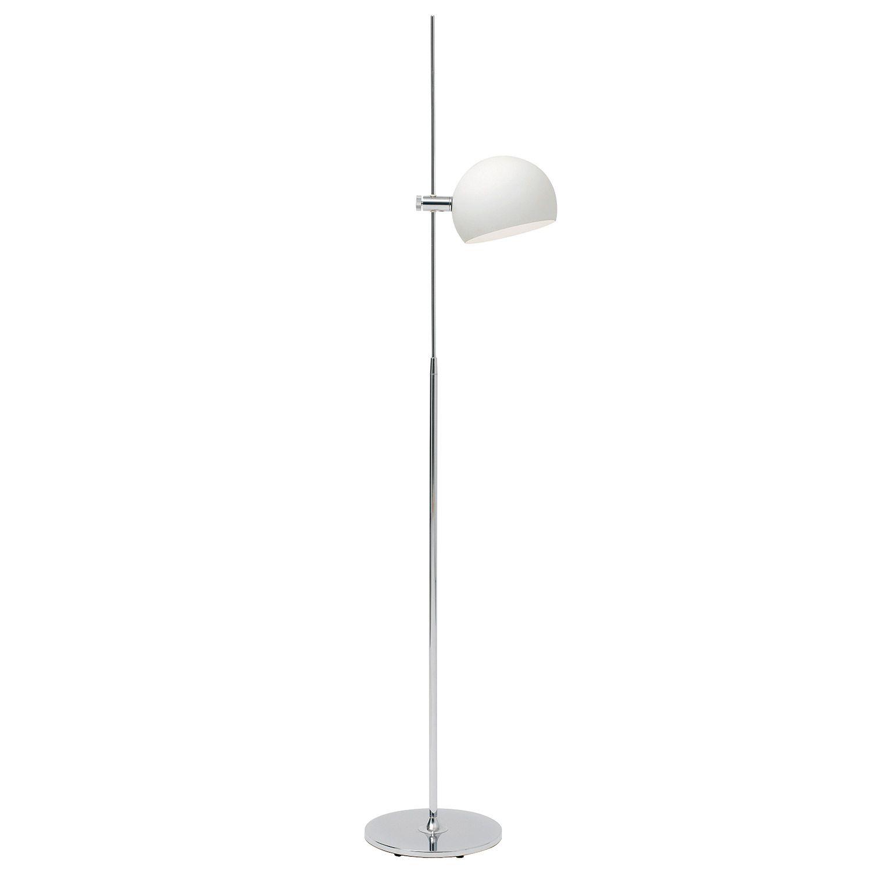 Nuevo Sussex White Floor Lamp @Zinc Door