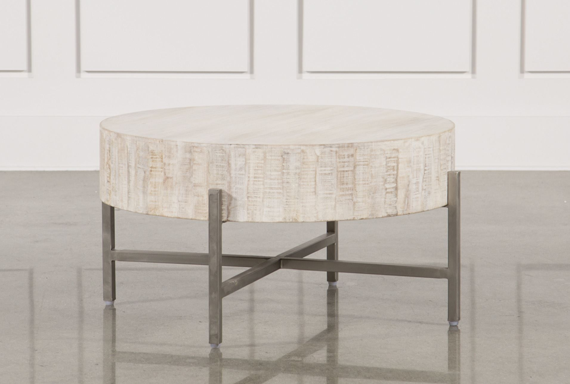 White Wash Coffee Table