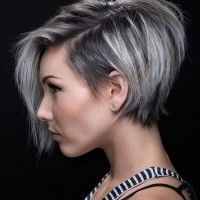 Pixie Cut With Long Bangs Hair Ideas Hair Short Hair Styles