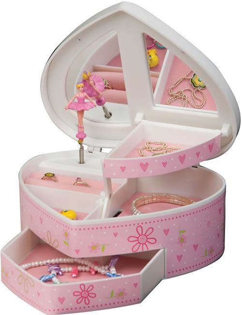 13 Cute Jewelry Boxes for Girls! - Happy Gabby
