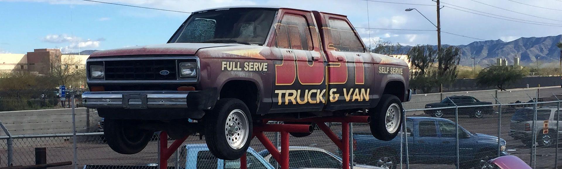 Phoenix AZ AutoService Truck Van Auto Parts Salvage Yard